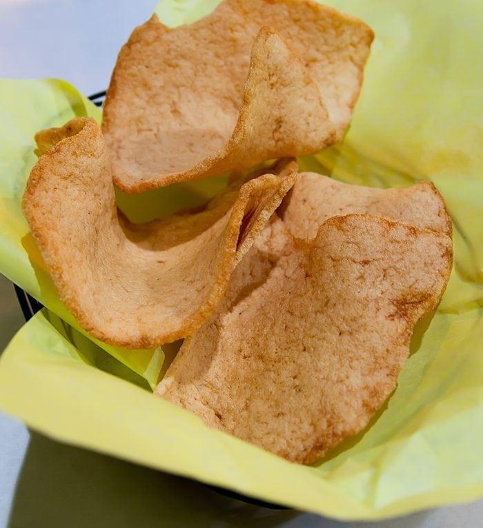 photo of shrimp chips