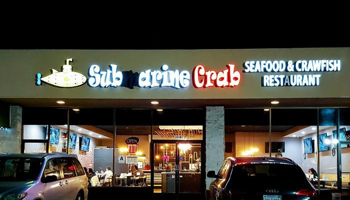 photo of the outside of submarine crab