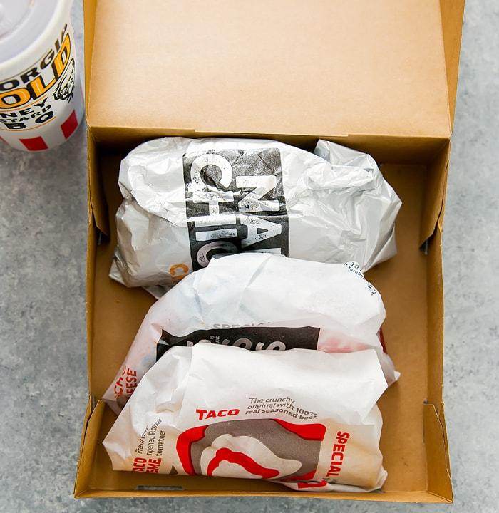 photo of tacos inside a Taco Box