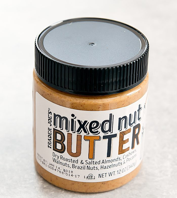 photo of a jar of Mixed Nut Butter