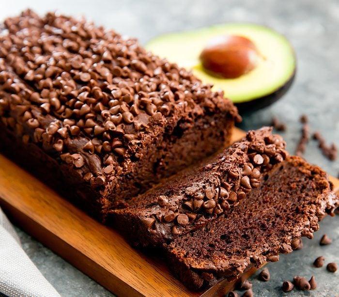 Chocolate Avocado Banana Bread