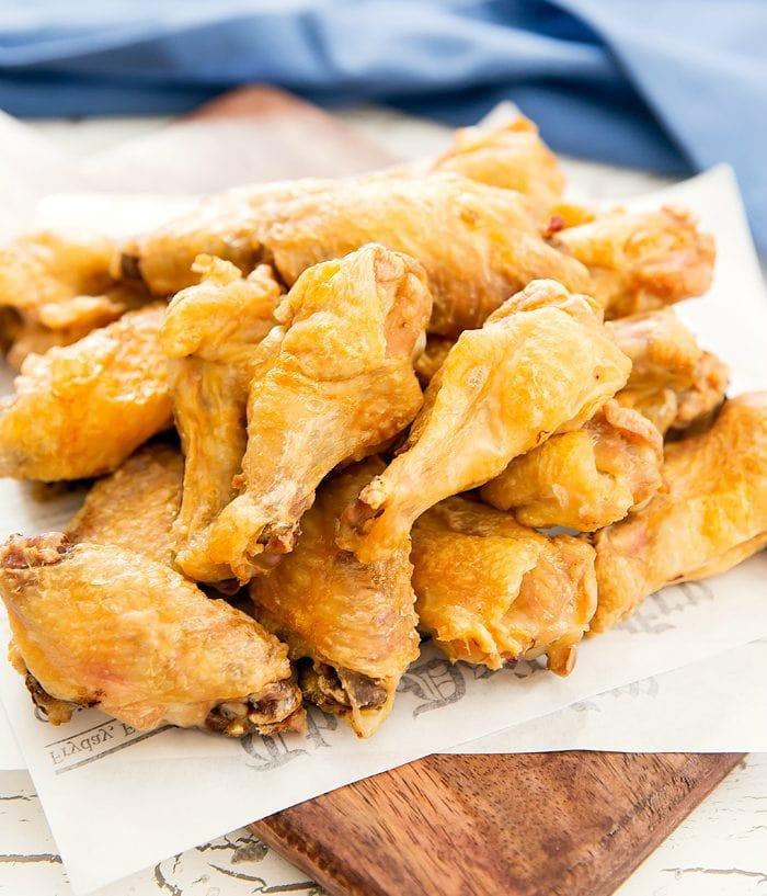 Crispiest Baked Chicken Wings