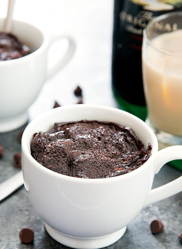 Flourless Baileys Chocolate Mug Cake photo