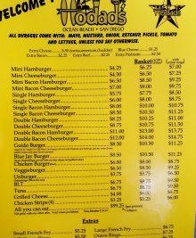 hodads-menu