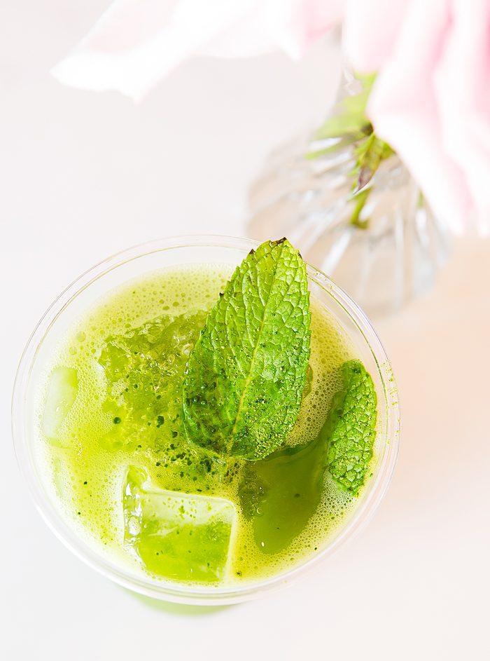 photo of Matcha Lemonade