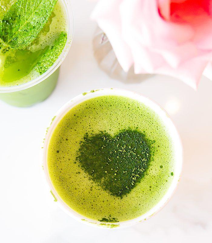 photo of match latte