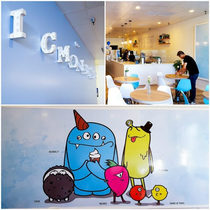 photo collage of the inside of ICMonster