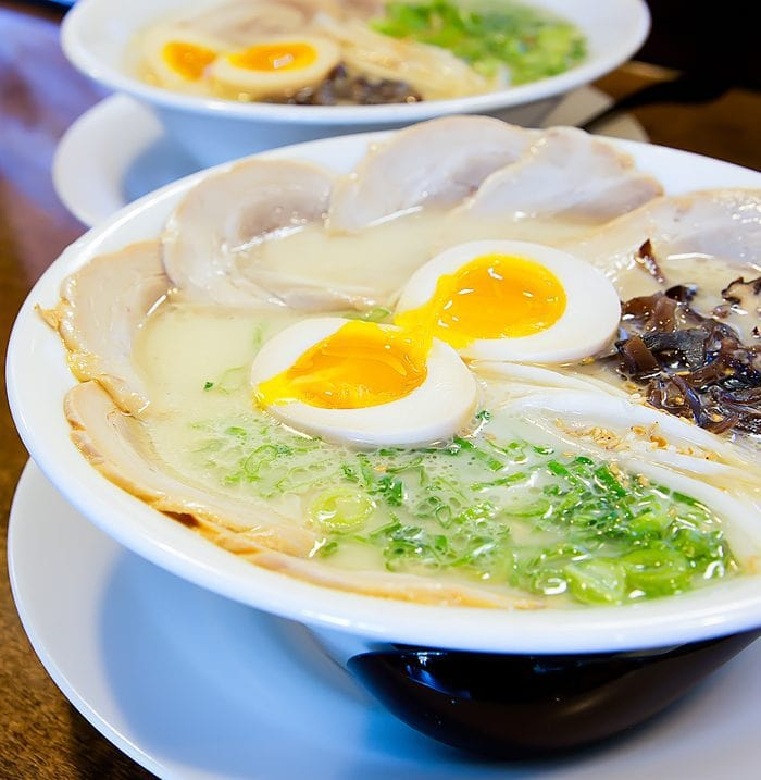 photo of a dish at Menya Ultra