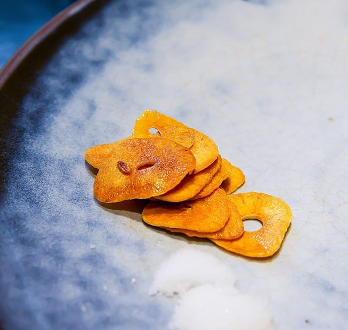 photo of garlic chips
