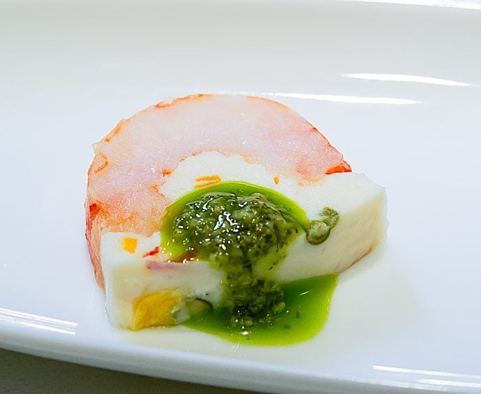photo of a cold seafood appetizer