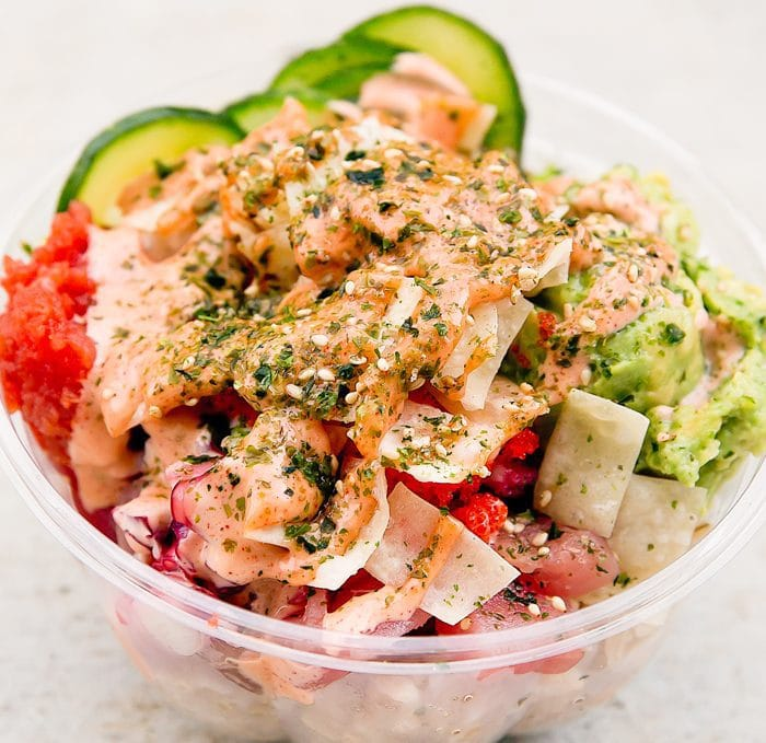 photo of a dish served at Pacific Poke Co