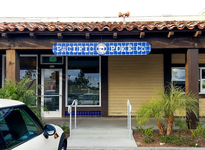 photo of the outside of Pacific Poke Co