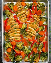 Sheet Pan Chicken Teriyaki