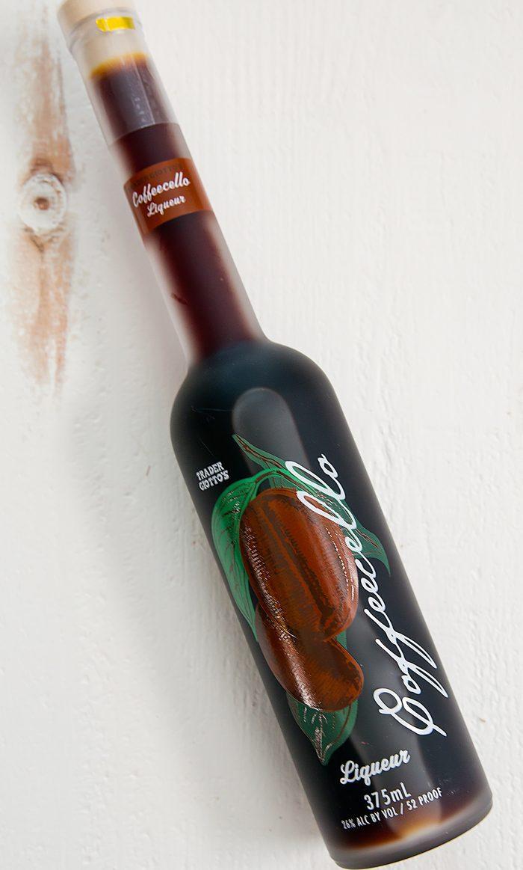 photo of a bottle of Coffeecello Liqueur