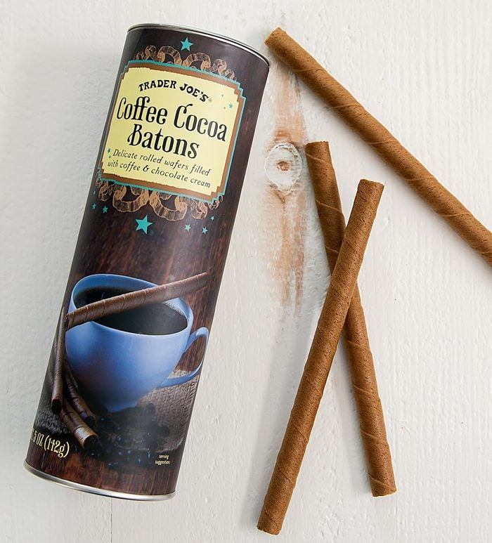 overhead photo of Coffee Cocoa Batons