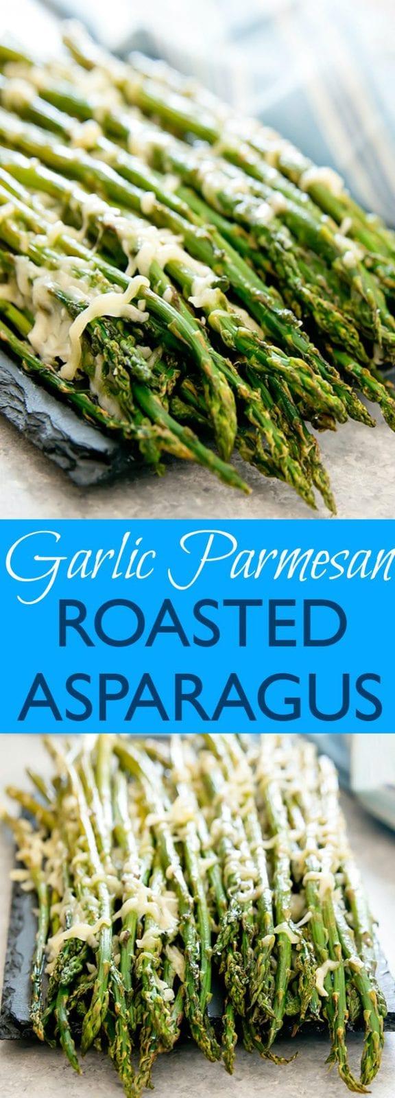 Easy Garlic Parmesan Roasted Asparagus