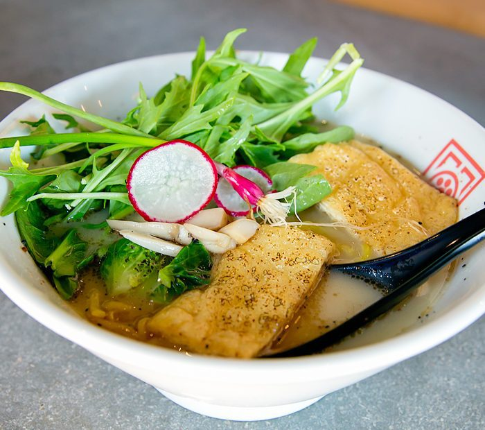 photo of a dish served at Hachi Ramen San Diego