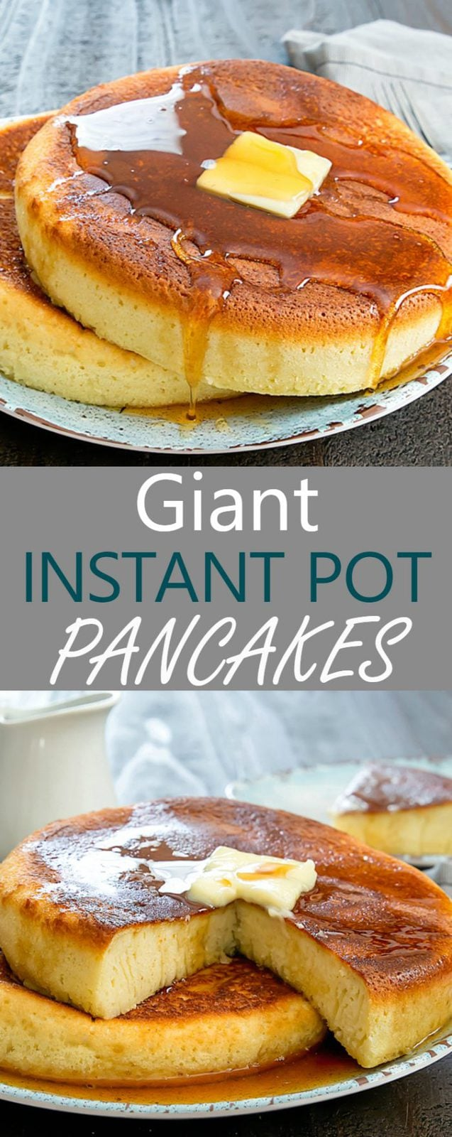 Giant Instant Pot Pancakes