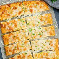 3 ingredient flourless breadsticks