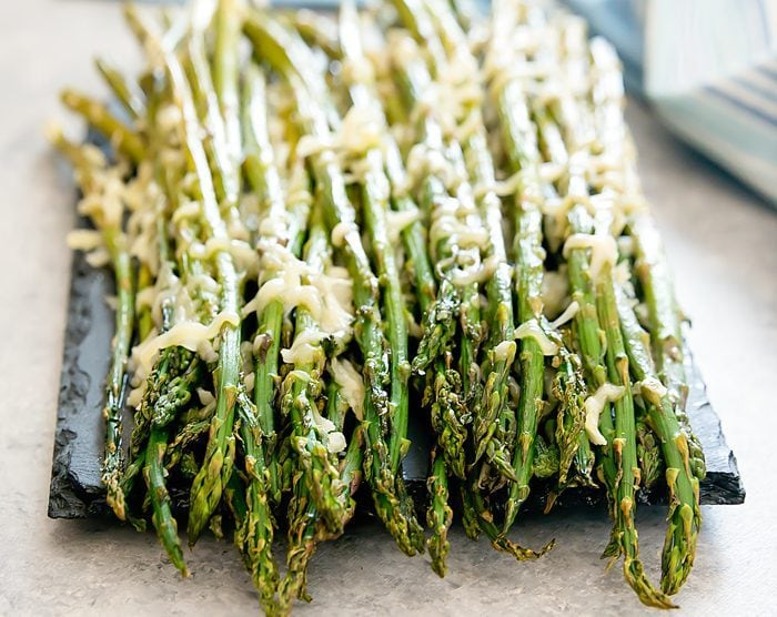photo of Roasted Parmesan Garlic Asparagus