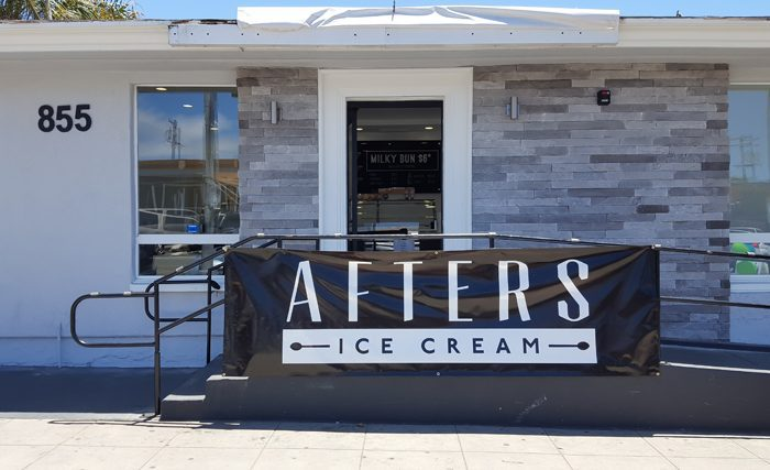 photo of the outside of Afters Ice Cream