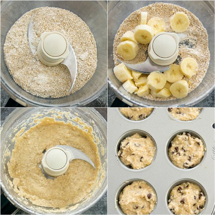 process photo collage showing how to make the batter