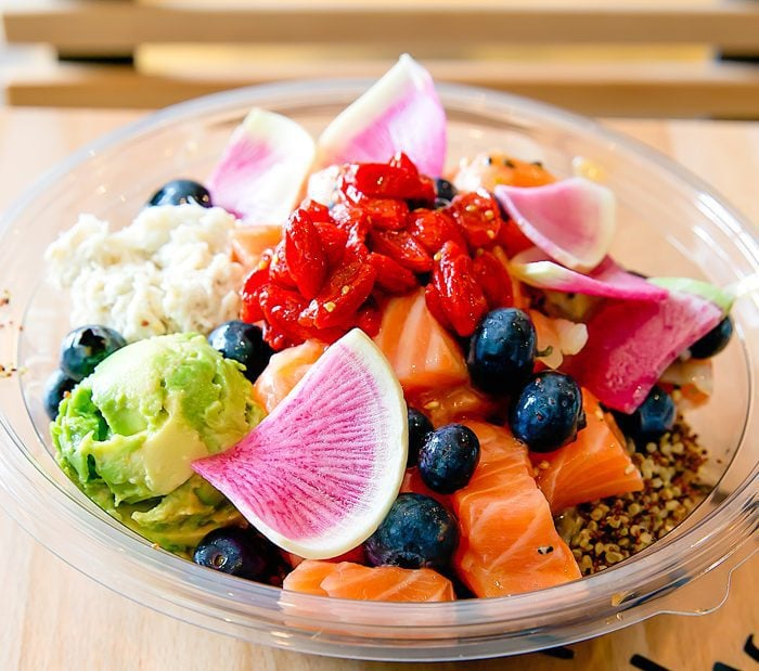 photo of Superhero poke bowl