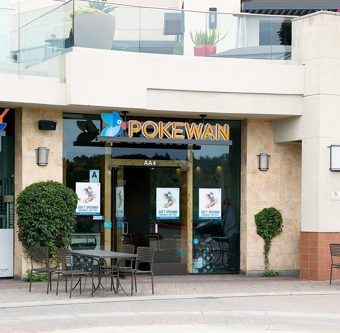 photo of the outside of Pokewan