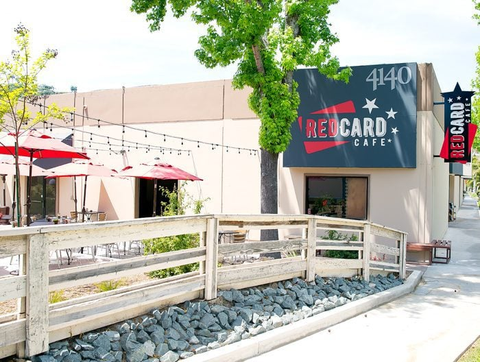 photo of the outside of Red Card Cafe San Diego