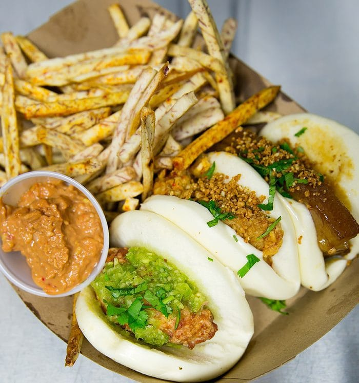 photo of a Baohaus lunch special
