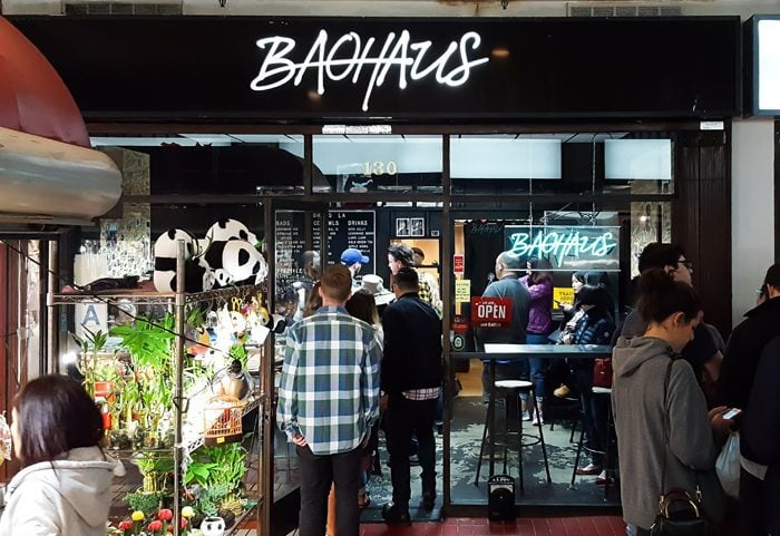 photo of the outside of Baohaus