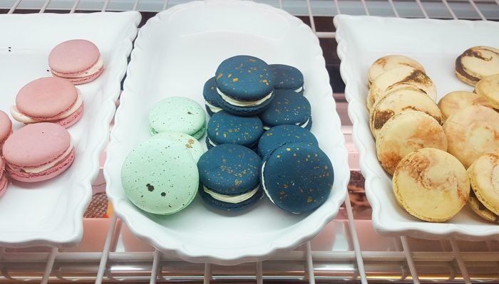 photo of the macarons at Blush Desserts