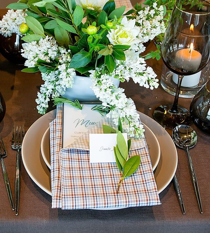 photo of a place setting