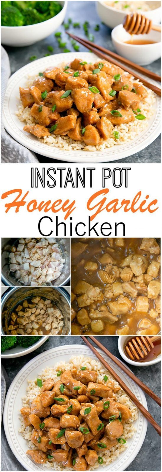 Easy Instant Pot Honey Garlic Chicken