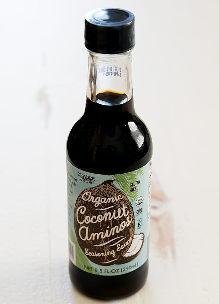 photo of a bottle of Organic Coconut Aminos Seasoning Sauce