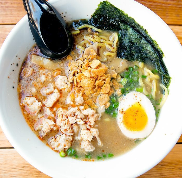 photo of Black Garlic Ramen