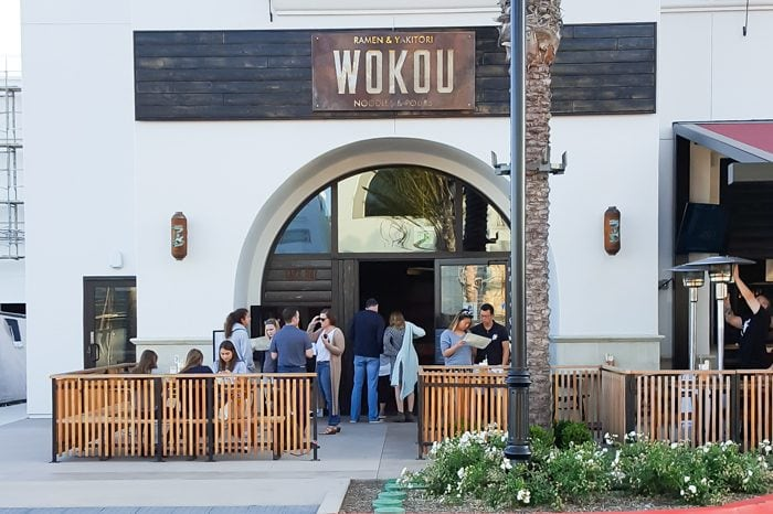 photo of the outside of Wokou