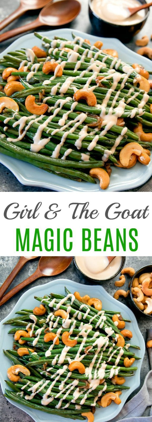 Girl and The Goat Magic Green Beans