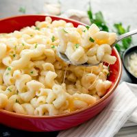 Instant Pot Garlic Parmesan Macaroni and Cheese