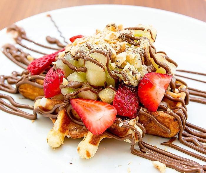 photo of Nutella Liege Waffle