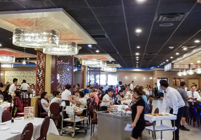 photo of the inside of Fung Fung Yuen