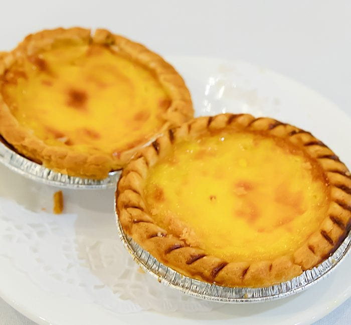 photo of two Egg Tarts