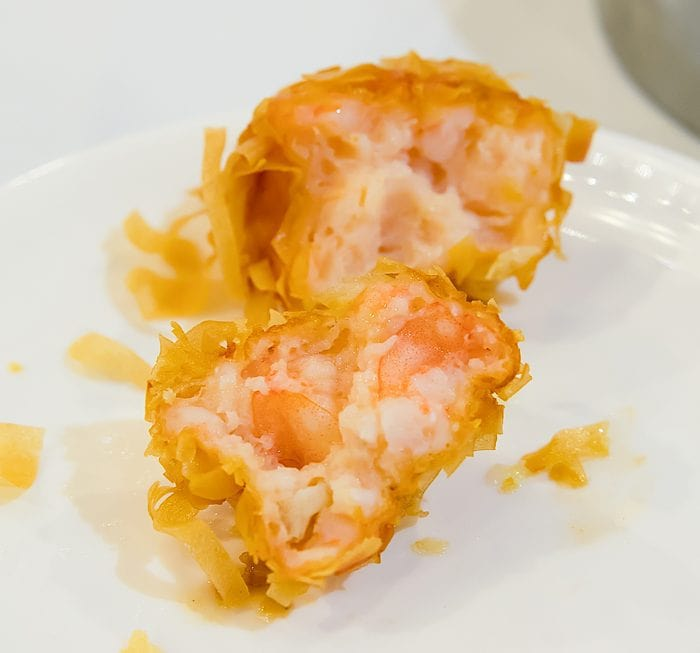 close-up photo of Deep Fried Shrimp Balls