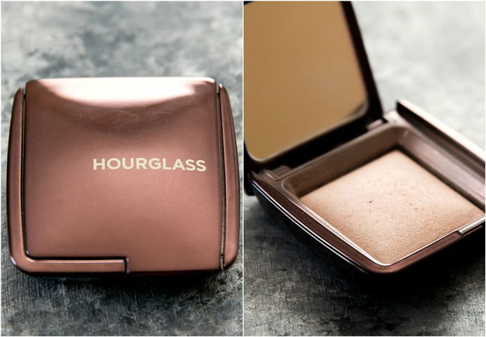 photo collage of Hourglass Ambient® Lighting Powder