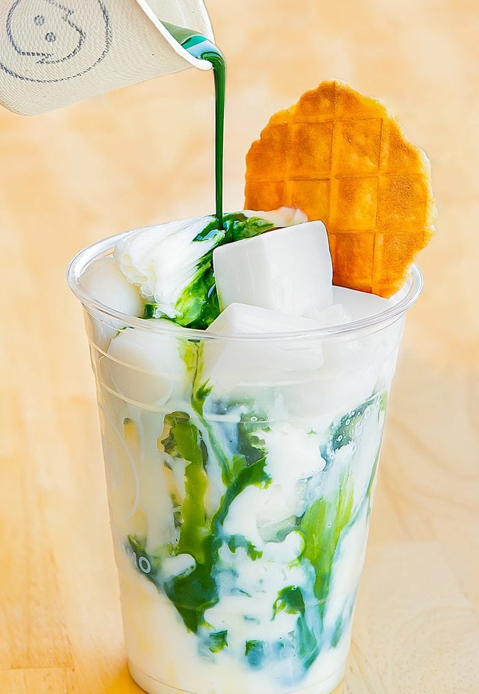 photo of Matcha Affogato from Iceskimo