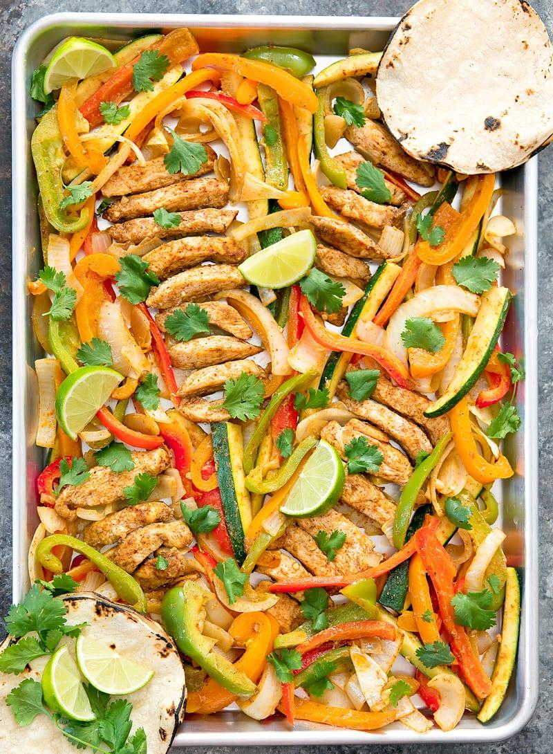 Sheet Pan Chicken Fajitas - Kirbie's Cravings - photo#27