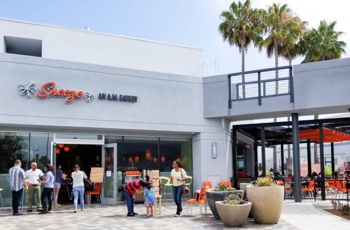 photo of the outside of Snooze