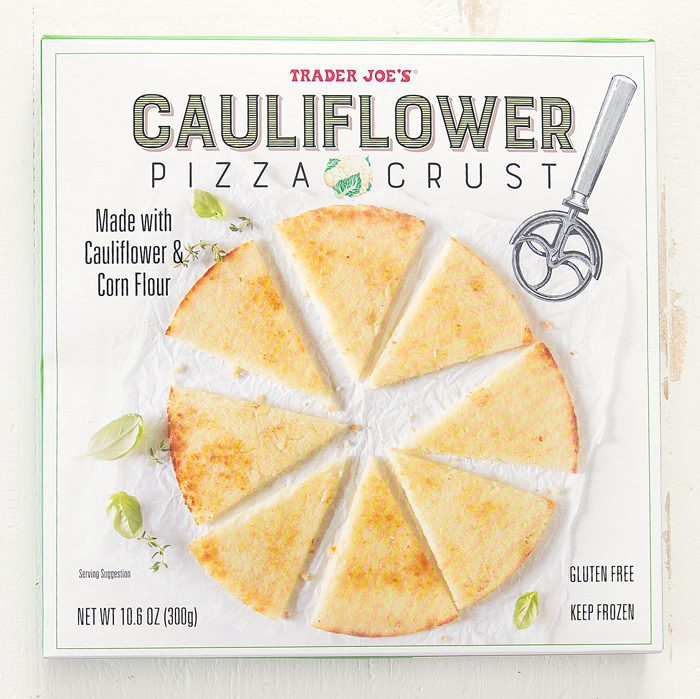 photo of Cauliflower Pizza Crust package