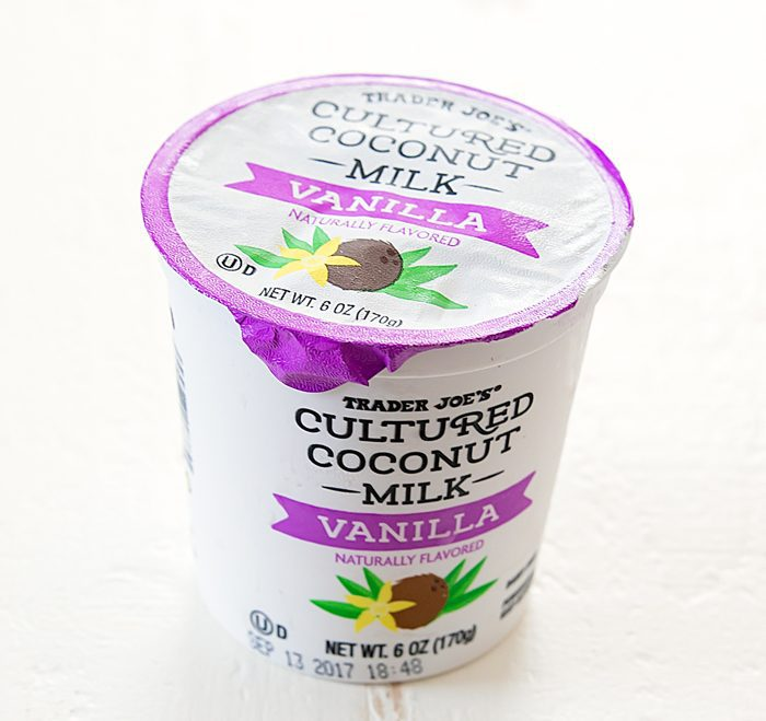 photo of a carton of Cultured Coconut Milk
