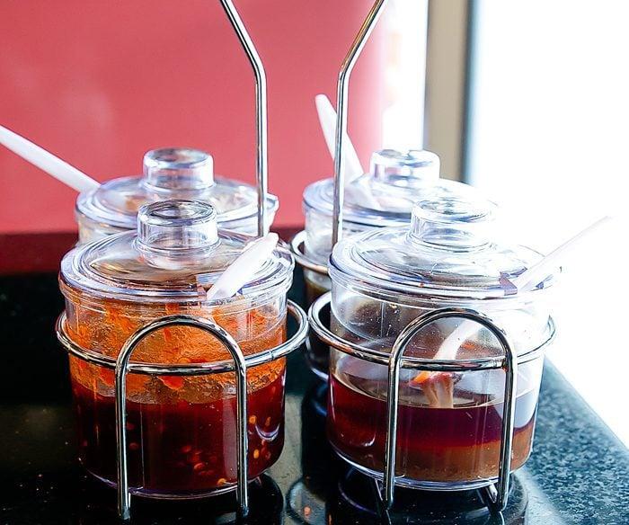 photo of hot pot ingredients